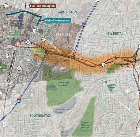 Rail corridor freight study